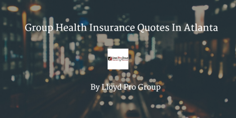 group health insurance quotes in atlanta